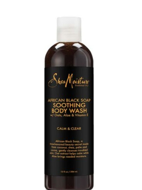 African Black Soap Soothing Body Wash