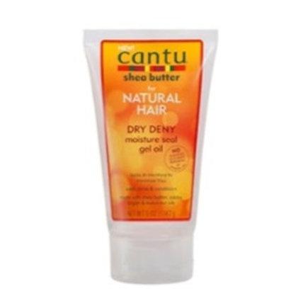 Cantu Natural Hair Dry Deny moisture seal gel oil