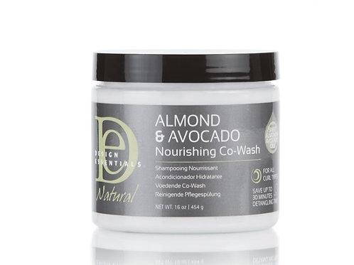 Design Essential Almond & Avocado Nourishing Co-Wash