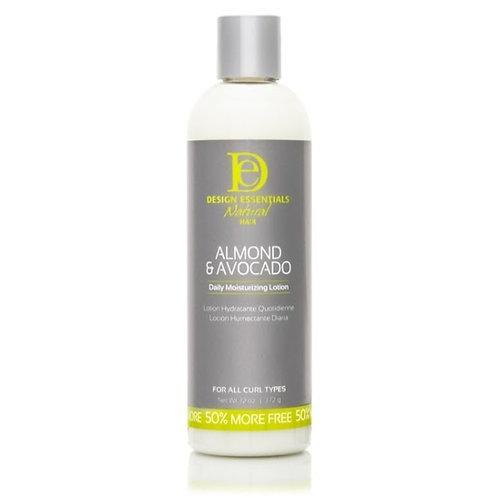 Design Essential Almond & Avocado Daily Moisturizing Lotion
