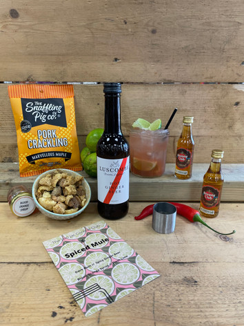 Spiced Mule (snacks can be added at checkout