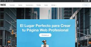 Conozca las características y ventajas de WIX para su Página Web