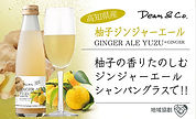 Dean&Co. 名刺サイズPOP 高知県産クラフトソーダ ゆずジンジャー.j