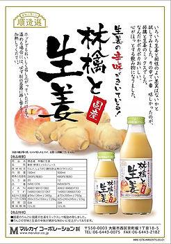 順造選 林檎と生姜 ちらし INR61076-INR60975-00-01.jp