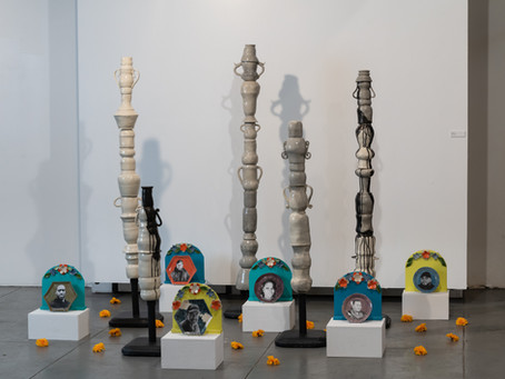 Santa Ana Artist Reflects on Dia de Muertos With 'And Still I Rise' Installation