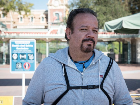 Slingshot: Disney Portraits Capture Cast Members' Pandemic Plight