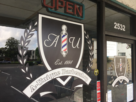Slingshot: A-Unique Barbershop Reopens in Anaheim Amid Pandemic, Protests