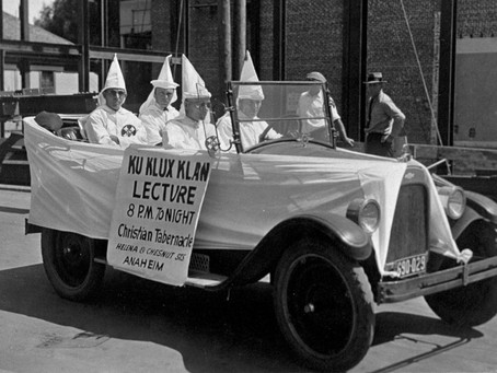 Slingshot: An Anti-Klan Clue on OC's Most Controversial Document?