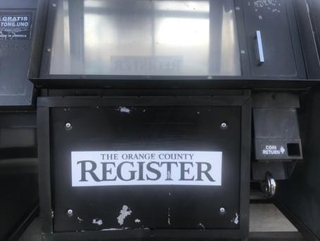 Slingshot: OC Register Reporters Go Union, Defy Newspaper's History!