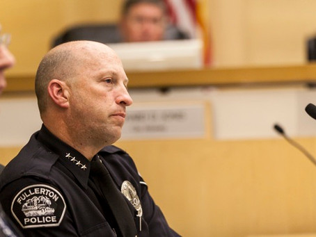 Fullerton Police Chief Addresses Arrest of AJ Redkey in Pasadena