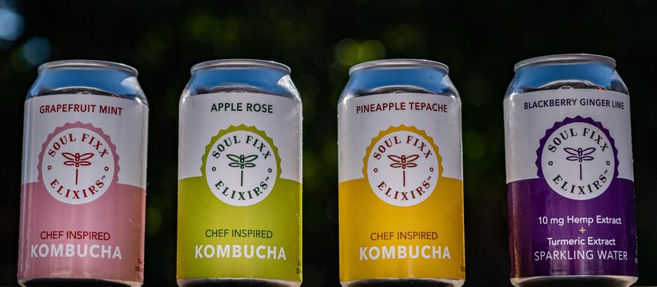 Soul Fixx Kombucha - A New Beverage Brand out of Healdsburg, Ca.