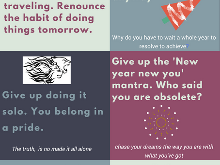 7 Things you must give up this year