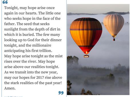 May Hope Arise