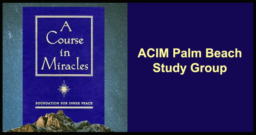 ACIM Palm Beach Study Group