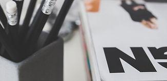 Black Pencils and Magazine