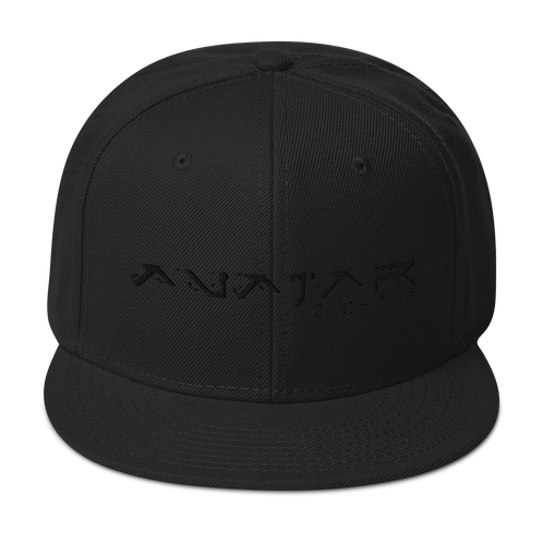 Avatar 2077 | Logo Blackout Snapback Hat