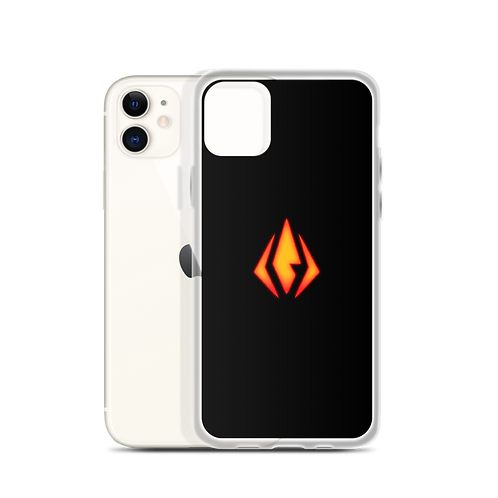 Cyberpunk Fire Nation Icon iPhone Case