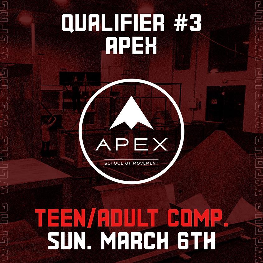 Apex San Diego - Qualifier 3/8 (Teen/Adult Comp.)