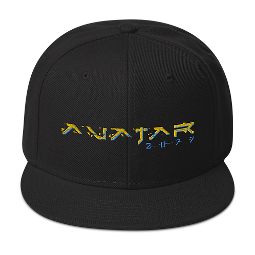 Avatar 2077 | Logo Snapback Hat