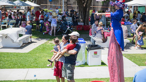 4TH Of July Parties – Stilt Walking Uncle Sam And Betsy Ross Parades