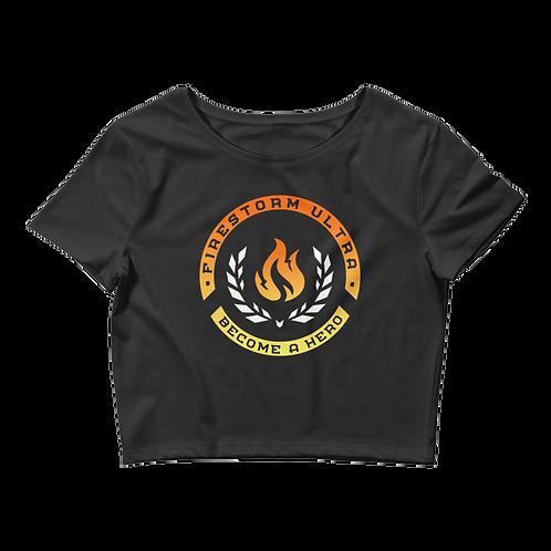 Firestorm Ultra Crest Women's Crop Tee