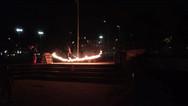 Fire Slackline