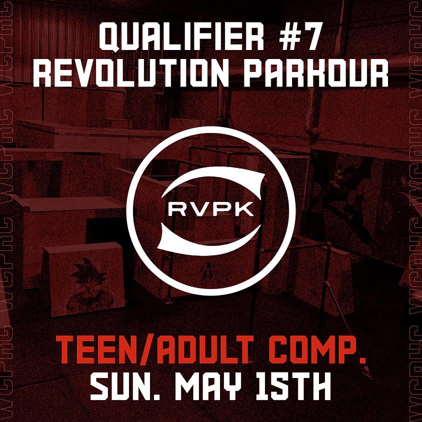 Revolution Parkour - Qualifier 7/8 (Teen/Adult Comp.)