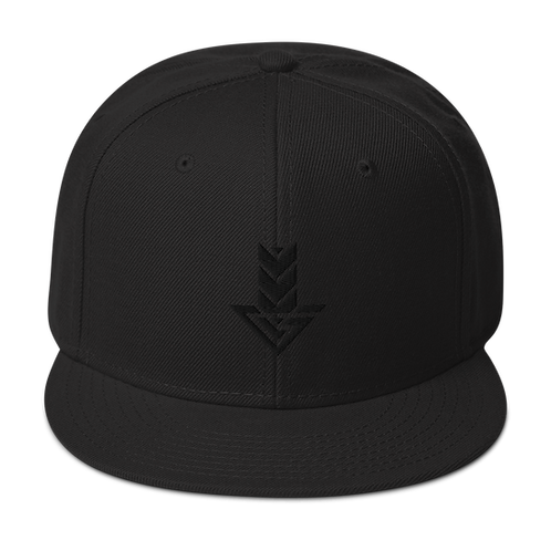 Avatar 2077 | Airbender Blackout Snapback Hat
