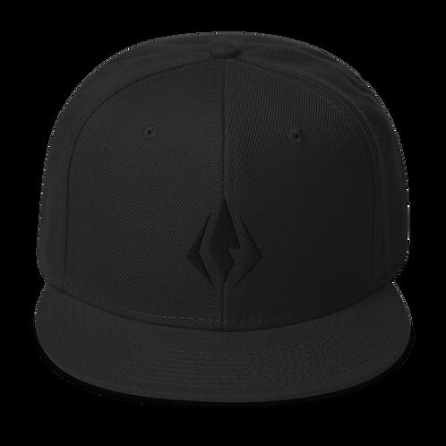 Avatar 2077 | Fire Nation Blackout Snapback Hat