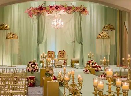 Indian Wedding Decoration at Hilton Penn's Landing