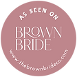 brown bride badge.png