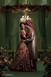 Indian mandap design, mint green mandap, hindu wedding ceremony decorations, indian bride and groom