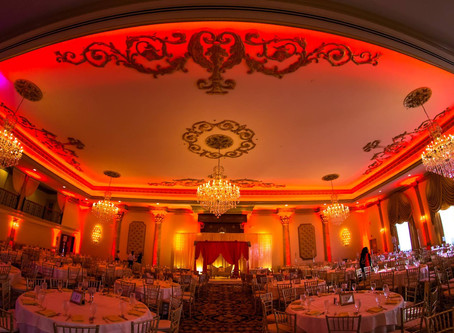 Bengali Bride and Indian Wedding Decor at The Lucien's in Berlin, NJ