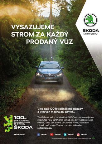ŠKODA 100 let Československa - Klíčový vizuál