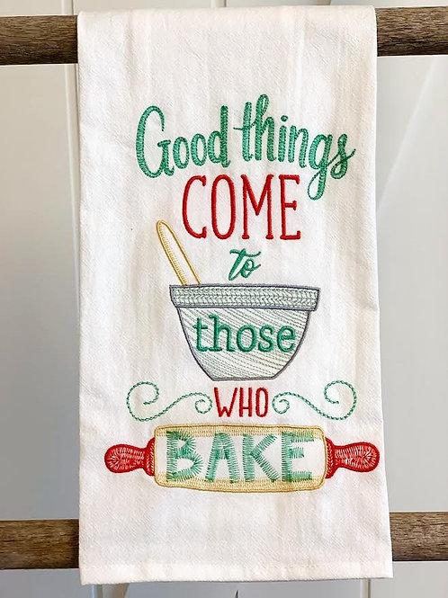 Good Things Tea Towel