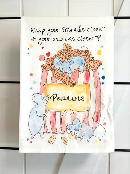 Keep Your Friends Close Dish Towel by Avery's Home