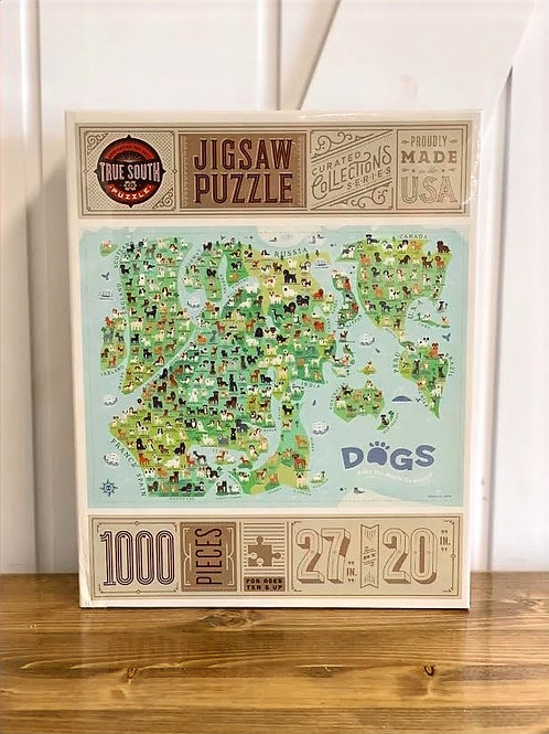 Dogs Make The World Go Round Puzzle