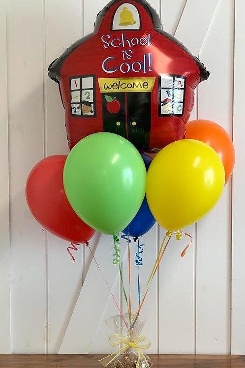 """School Is Cool!"" Balloon Bouquet"