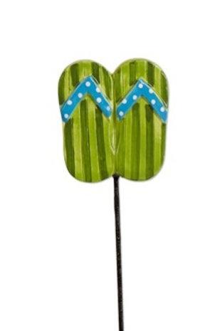 Flip Flop Plant Stake