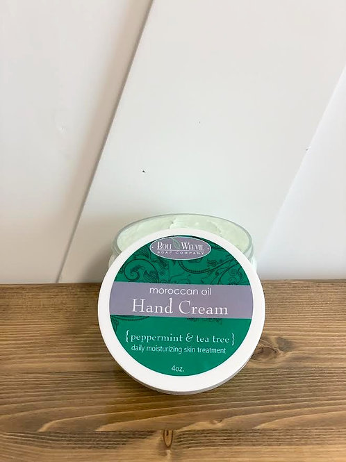 Peppermint and Tea Tree
