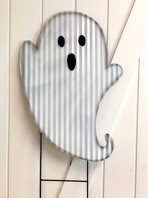 Corrugated Tin Yard Ghost