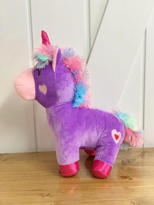 Lavender Plush Unicorn