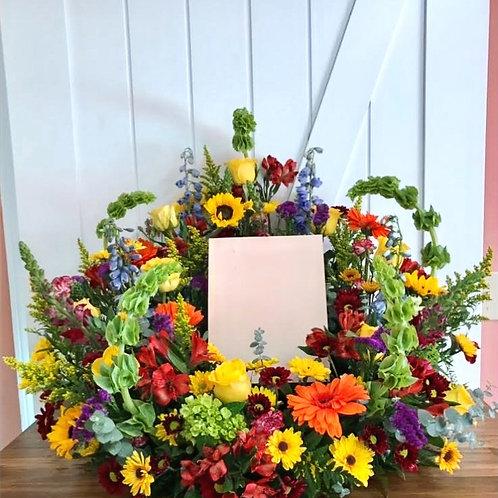 Fond Memories Memorial Wreath