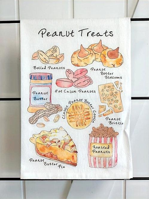 Peanut Treats Dish Towel by Avery's Home