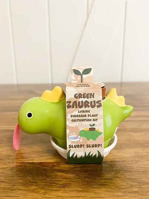 Green Zaurus -  Lucky Clover