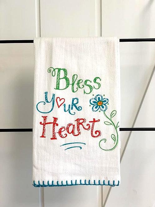 Bless Your Heart Tea Towel