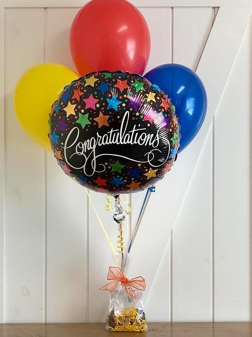Shute Pecan Balloon Bouquet