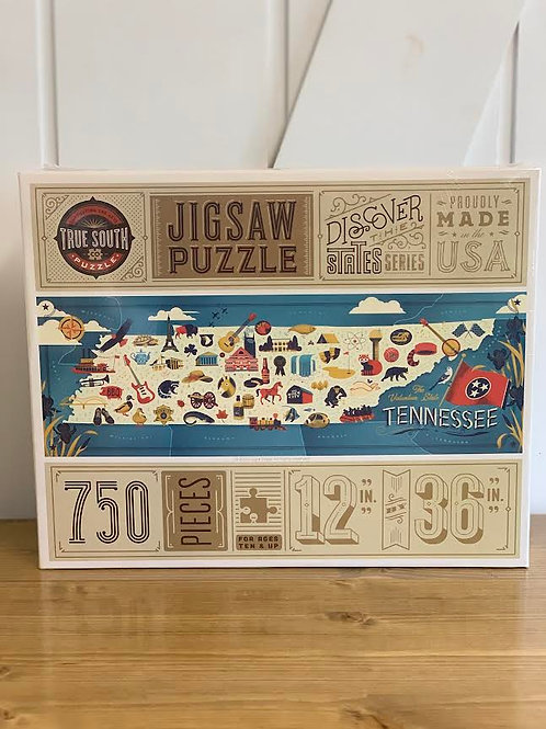 Tennessee Map Puzzle