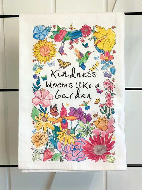 Kindess Blooms Dish Towel by Avery's Home