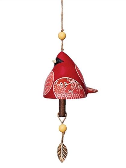 Ceramic Bell Cardinal